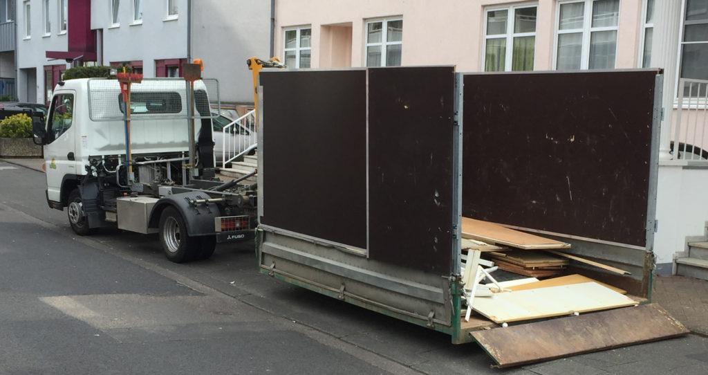 Haushaltsauflösung in Köln Brück mit eigenen Container Service