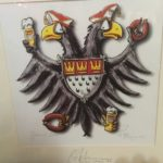 Kölner Gemälde mit Wappen von Köln